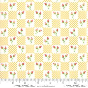 Moda Lulu Lane - Buttercup Flower Patch