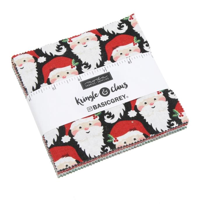 Moda Kringle & Claus Charm Pack