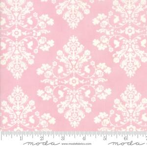 Moda Fabric Lily and Will Revisited - Pink Cottontail Toile