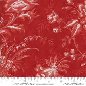Moda Fabric Snowberry - Berry Floral Toile