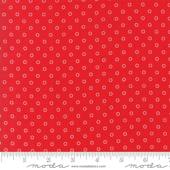 Moda Smitten - Red Little Darling Dot 55172-11