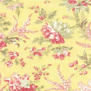Moda Whitewashed Cottage - Daffodil Flourish Floral 44061-15