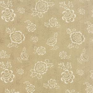 Moda Black Tie Affair -  Cream on Tan Whimsy Floral