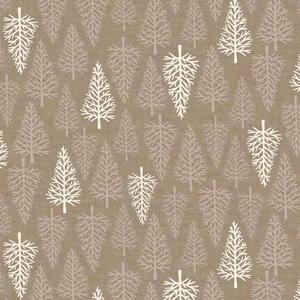 Makower Scandi II - Trees Taupe