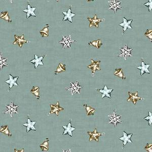 Makower Balmoral - Mini Scatter Blue