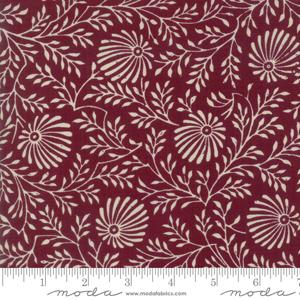 Moda Fabric - Pondicherry - Magenta Cluny