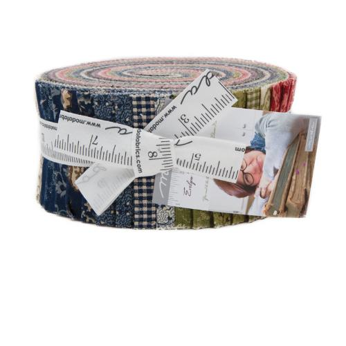 Moda Evelyn's Homestead Jelly Roll