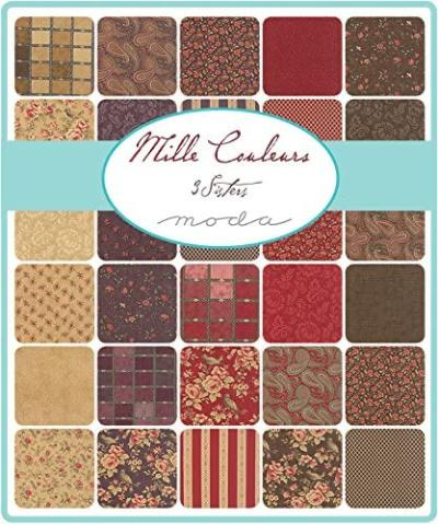 Moda Fabric Mille Couleurs