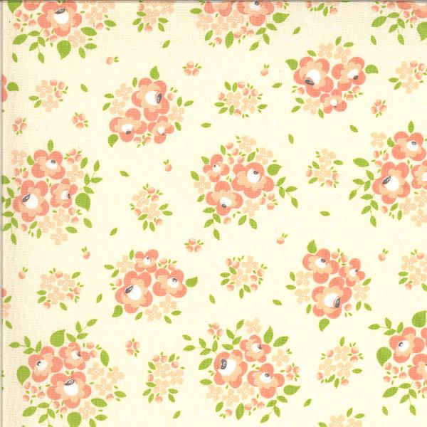 Moda Apricot and Ash - Spring Blooms Baby Breath