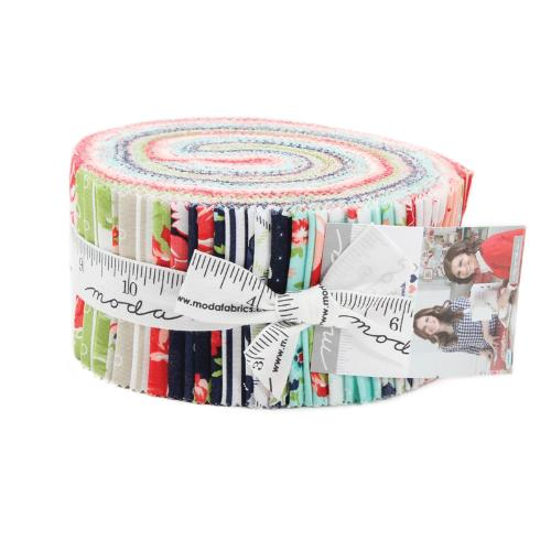 Moda Smitten Jelly Roll