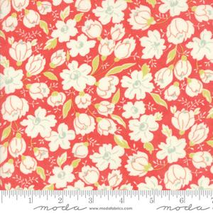Moda Fabric Coney Island - Candy Apple Red Buttercups 20285-12