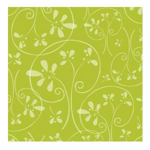 Camelot Fabrics - Whoo's Cute - Tree Silhouette in Green