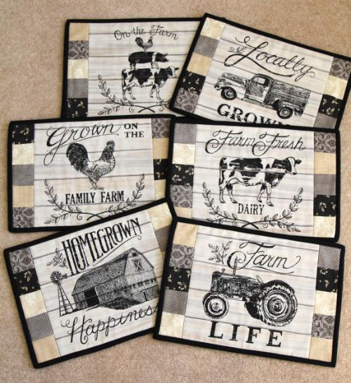 Moda Homegrown Linens Table Mat Kit