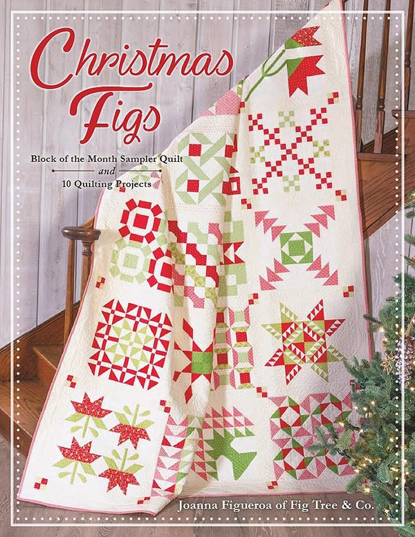 Christmas Figs Block of the Month by Joanna Figueroa