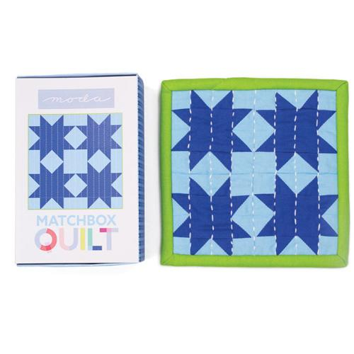 Moda Matchbox Quilt - No 7 Light Blue