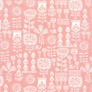 Moda Lil Red - Pink Grandma's Wallpaper