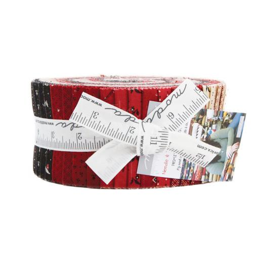 Moda Needle and Thread Gatherings Jelly Roll