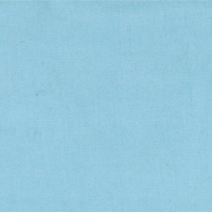 Moda Little Things Organics - Aqua Poplin Solid