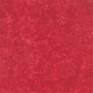 Moda Fire and Ice Batiks - Flourish Fire 4334-26