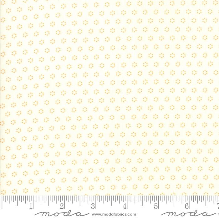 Moda Fabric - All Hallows Eve - Ghost Pumpkin Polka Dot Circles