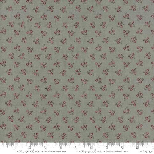 Moda Fabric - Jardin de Versailles - Castle Grey Rose