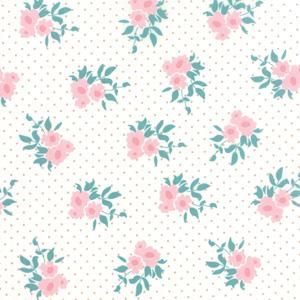 Moda Kindred Spirits - Ivory Medium Floral 2891-11