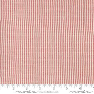 Moda Fabric Snowberry Wovens - Snow and Berry Plaid