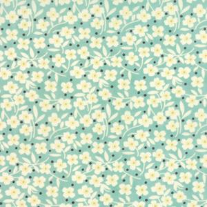 Moda Farmhouse - Pond Polka Dot Daisy
