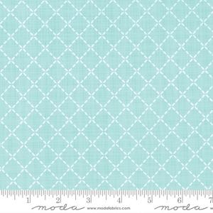 Moda Lullaby - Quilted Aqua 13155-18