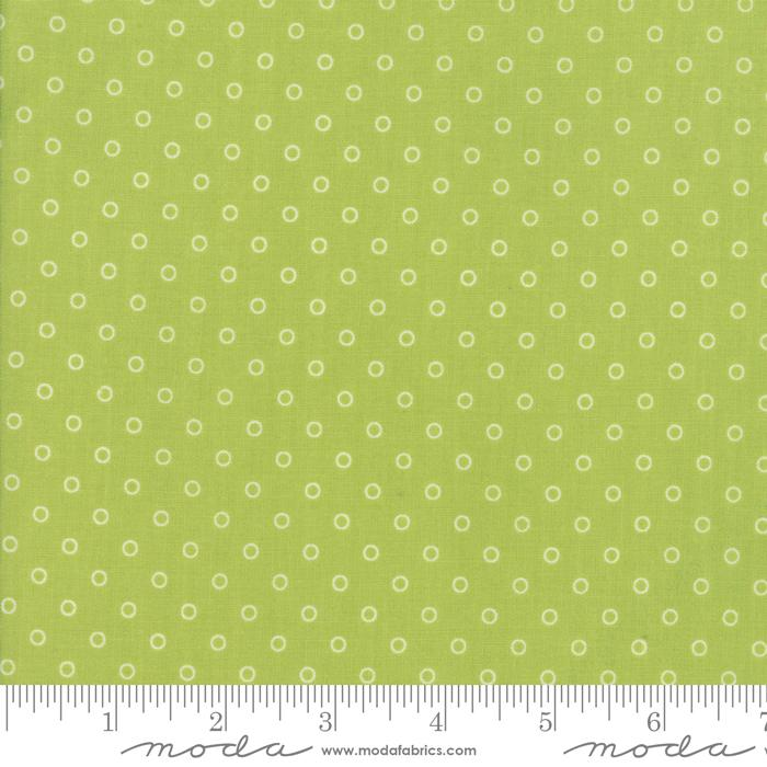 Moda Smitten - Green Little Darling Dot 55172-16