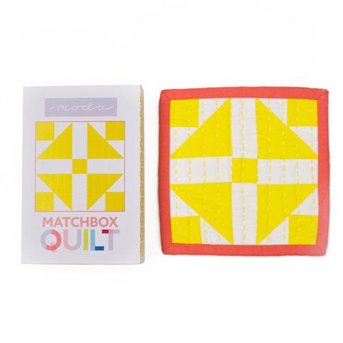 Moda Matchbox Quilt - No 2 Yellow