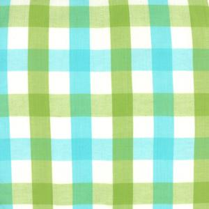 Moda Wee Wovens Bright - Plaid Aqua Green 12127-20