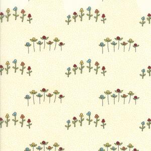 Moda Fabric - The Treehouse Club - Vanilla Wildflowers