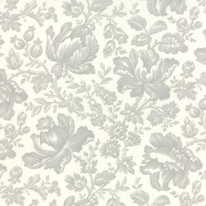 Moda Whitewashed Cottage - Pebble on Linen Damask 44062-21