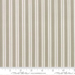 Moda Fabric - Darling Little Dickens - Toast Ticking Stripe