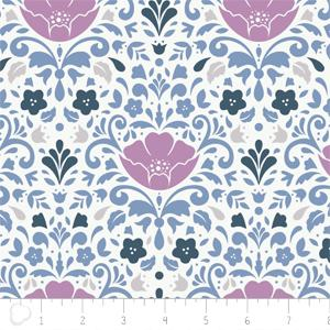 Camelot Fabrics - Ethereal - Floral Damask in Orchid