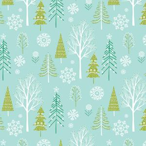 Dashwood Studio - Winter Wonderland - Christmas Forest