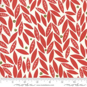 Moda Fabric Merrily - Berry Holly