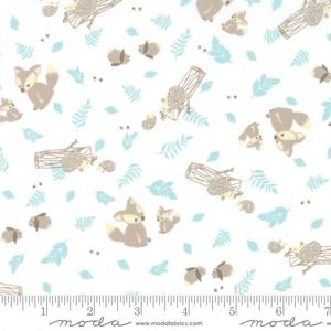 Moda Lullaby - Woodland Critters Cloud 13151-11