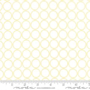Moda Sundrops - White Circled 29014-12