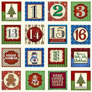 Quilting Treasures Santa Coming to Town - Christmas Blocks