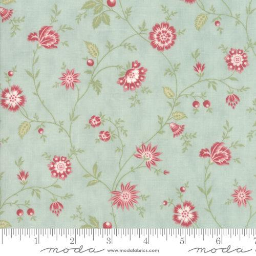 Moda Porcelain - Mist Heirloom Floral