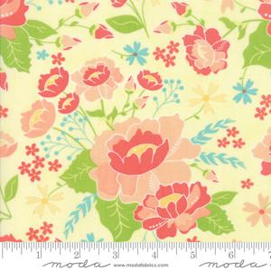 Moda Lulu Lane - Canary Flower Garden