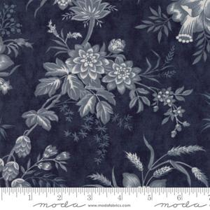 Moda Fabric Snowberry - Midnight Toile