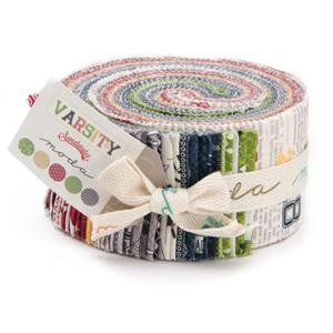 Moda Varsity Jelly Roll by Sweetwater Moda Fabrics