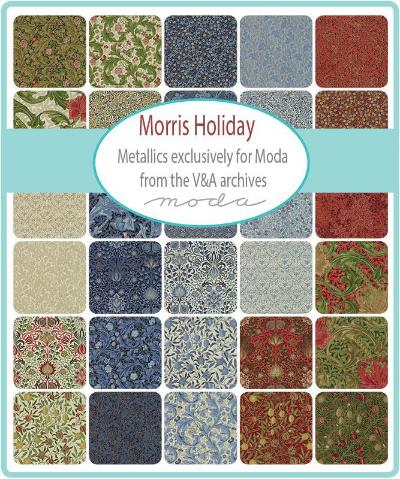 Moda Fabric Morris Holiday