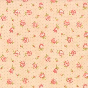 Moda Strawberry Fields Revisited - Blush Strawberry Blooms