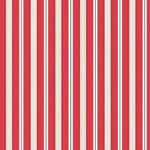 Makower Ahoy - Stripe Red
