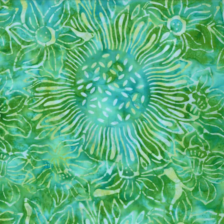 Moda Breezy Batiks - 4323-31 (Green)