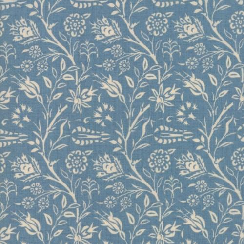 Moda Fabric - Vive La France - Woad Bourbannais